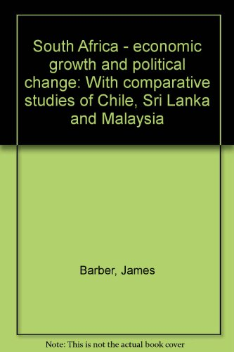 South Africa: economic growth and political change: Adrian Leftwich