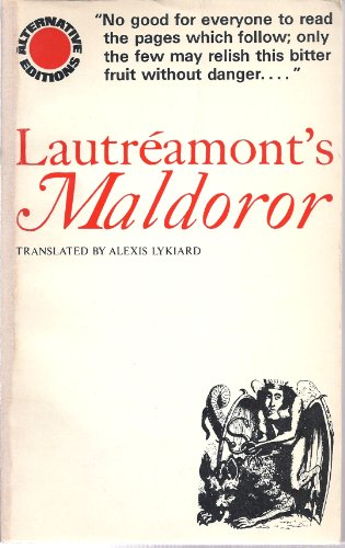 Lautreamont's Maldoror (0850310849) by Lautreamont