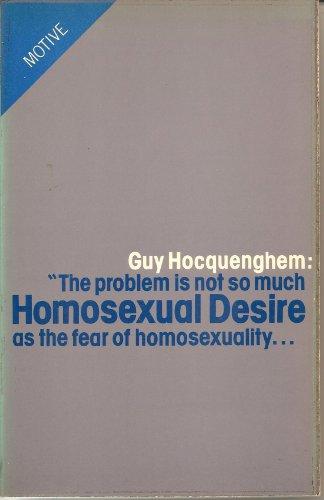 9780850312072: Homosexual Desire
