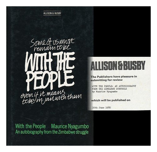 9780850313628: With the People: An Autobiography from the Zimbabwe Struggle