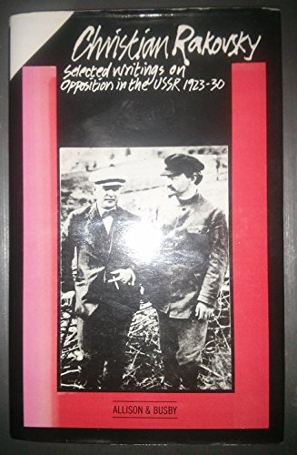 9780850313789: Selected Writings on Opposition in the U.S.S.R., 1923-30
