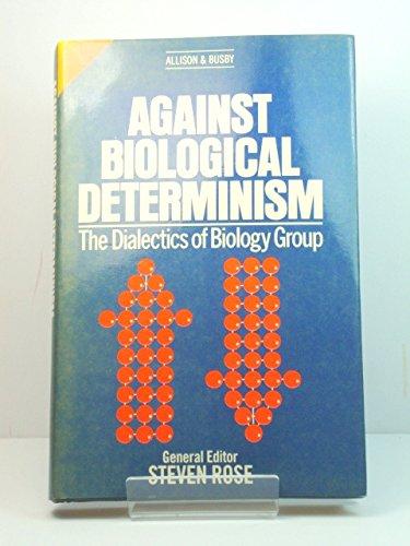 9780850314236: Against Biological Determinism