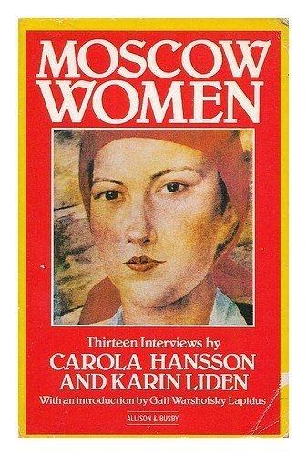 9780850315653: Moscow Women: Thirteen Interviews