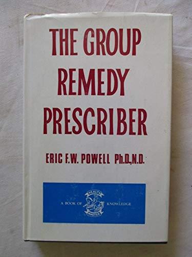 9780850320404: Group Remedy Prescriber