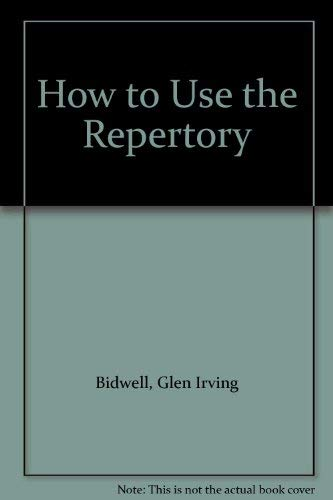 9780850321500: How to Use the Repertory