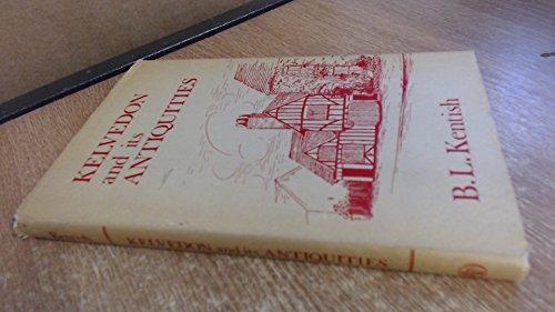 9780850331783: Kelvedon and Its Antiquities