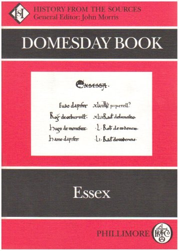 9780850334845: Domesday Book: Essex (Domesday Books (Phillimore))