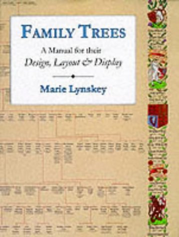 9780850339802: Family Trees: A Manual for Their Design, Layout and Display