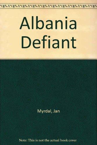9780850350210: Albania Defiant