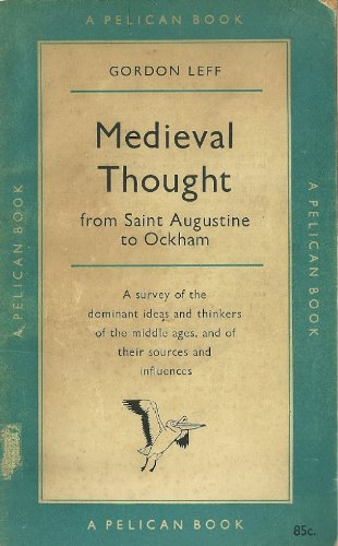 9780850360615: Mediaeval Thought: St.Augustine to Ockham