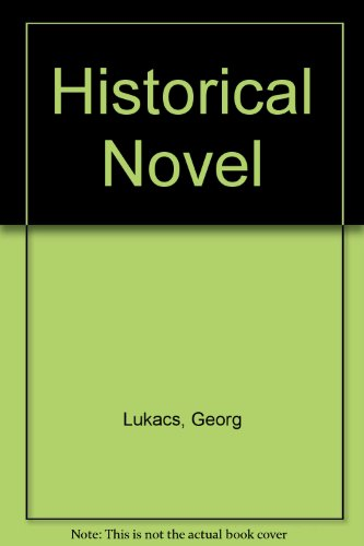 Historical Novel (0850360684) by Lukacs, Georg