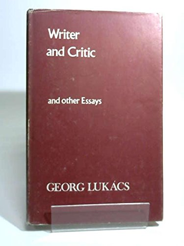 Writer and Critic (English and Hungarian Edition): Lukacs, Georg
