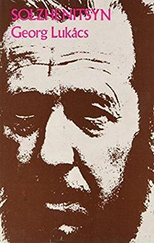 Solzhenitsyn (Hardcover): Georg Lukacs