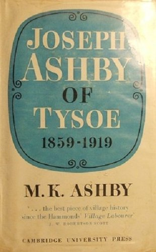 9780850361742: Joseph Ashby of Tysoe