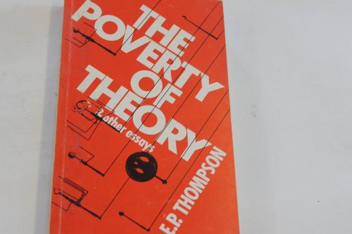 9780850362329: The Poverty of Theory and other essays