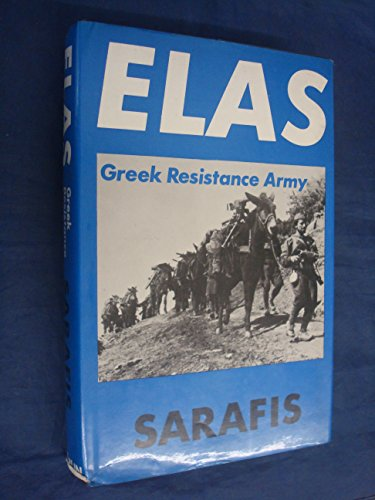 9780850362442: Elas: Greek Resistance Army