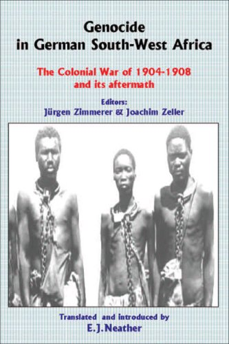 9780850365733: Genocide in German South-West Africa: The Colonial War of 1904-1908 and Its Aftermath