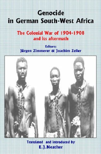 9780850365740: Genocide in German South-West Africa: The Colonial War of 1904–1908 and Its Aftermath