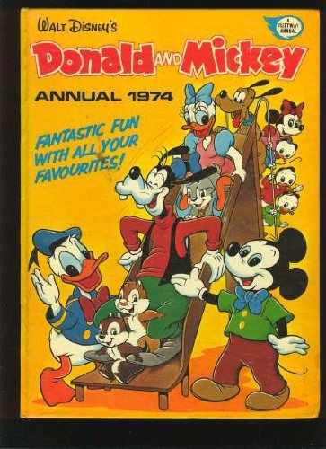 Walt Disney's Donald and Mickey Annual 1974