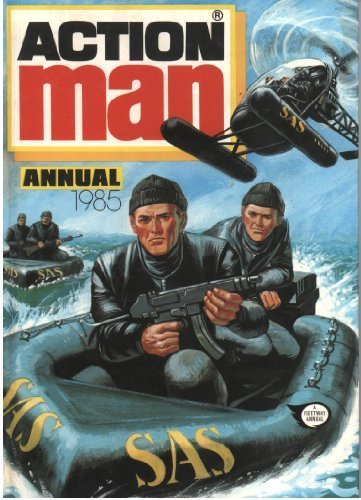 9780850375855: Action Man Annual 1985