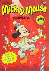 Mickey Mouse Annual 1982
