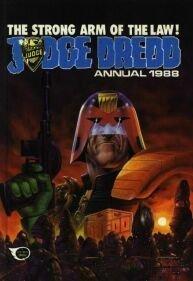 9780850377699: Judge Dredd Annual 1988