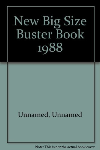 New Big Size Buster Book 1988