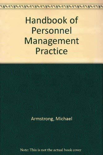 9780850381115: Handbook of Personnel Management Practice
