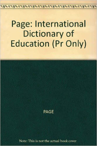 9780850381757: International Dictionary of Education