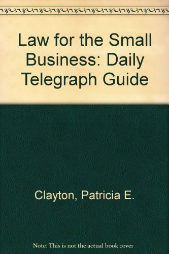 "9780850384727: Law for the Small Business: ""Daily Telegraph"" Guide"