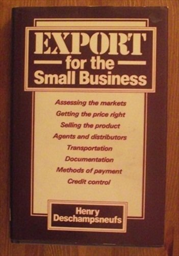 9780850387704: Export for the Small Business