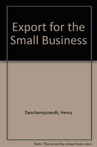 9780850387711: Export for the Small Business