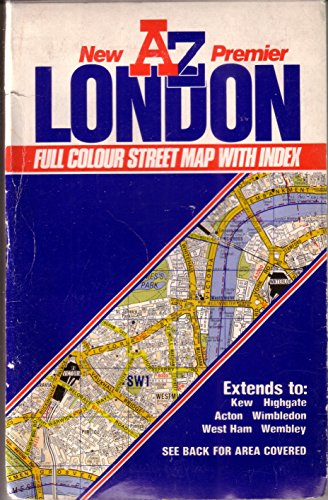 Az Street Map Of London.9780850390193 Premier Street Map Of London Abebooks Geographers