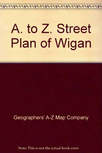 A. to Z. Street Plan of Wigan (0850390990) by Geographers' A-Z Map Company
