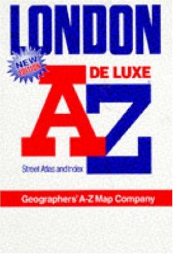 "A. to Z. Atlas of London: 1m-3"": Geographers A-Z Map"