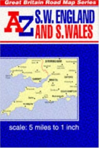 9780850391206: South West England and Wales Map Guide (Reversible Great Britain series)
