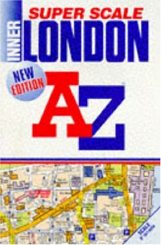 9780850391398: A. to Z. Super Scale Atlas of Inner London: 1m-9