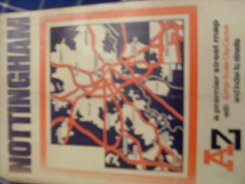 9780850391459: Premier Street Map of Nottingham