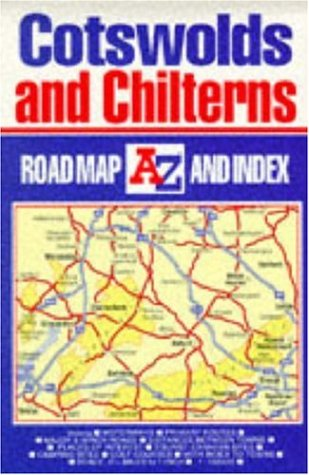 9780850391664: A-Z Road Map of Great Britain: Cotswolds and Chilterns