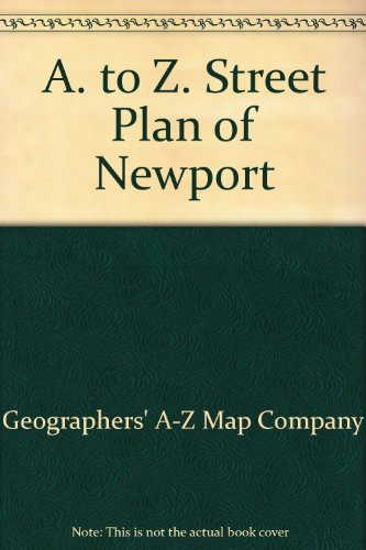 A. to Z. Street Plan of Newport (0850391873) by Geographers' A-Z Map Company