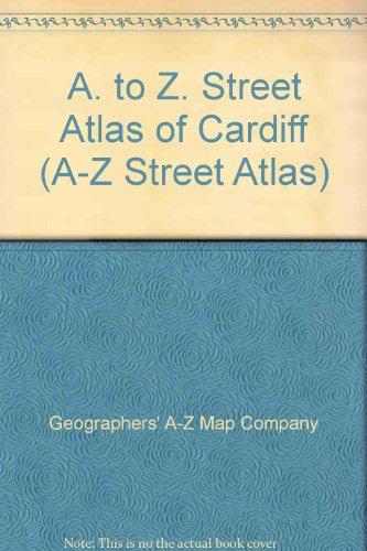 9780850392036: A. to Z. Street Atlas of Cardiff (A-Z Street Atlas S.)