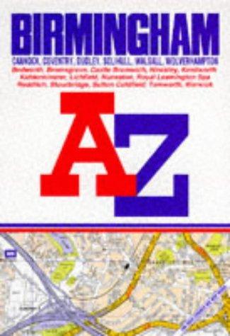 A-Z Birmingham Street Atlas (A-Z Street Atlas): GEOGRAPHERS\ A-Z MAP