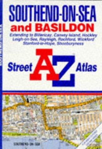 "A. to Z. Street Atlas of Southend-on-Sea and Basildon: 1m-3.3"" (A-Z Street Atlas) (9780850392654) by Geographers' A-Z Map Company"
