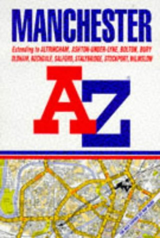 A to Z Street Atlas Manchester: Geographers' A-Z Map