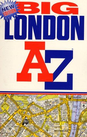 9780850392739: A-Z London Big Street Atlas (London Street Atlases)