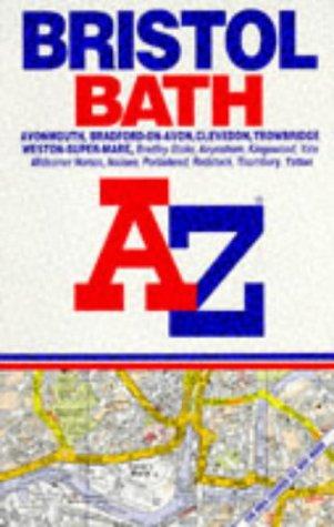 A-Z Bristol, Bath (A-Z Street Atlas): Geographers A-Z Map