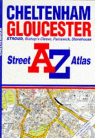 A-Z Atlas of Cheltenham and Gloucester Pb: Geographers' A-Z Map