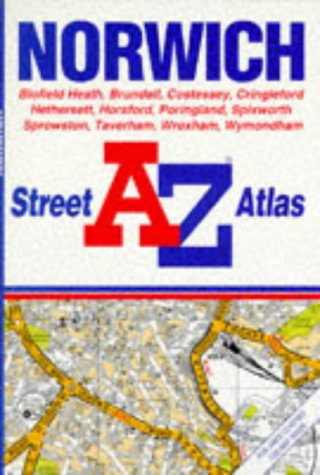 A. to Z. Norwich Street Atlas (0850393086) by Geographers' A-Z Map Company
