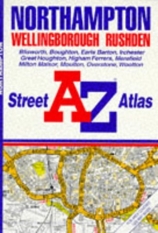 A-Z Street Atlas of Northampton & Wellingborough Pb (0850393124) by Geographers' A-Z Map Company