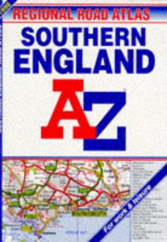 9780850393378: A-Z Regional Road Atlas of Southern England